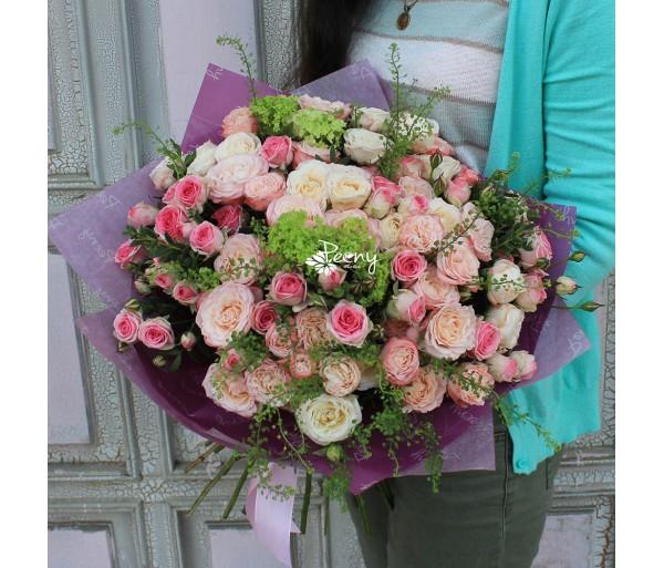 Роза кустовая кейтлин