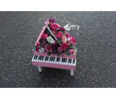 Piano composition pink