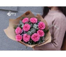 New model bouquet of roses 12