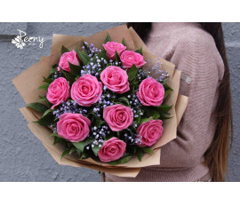New model bouquet of roses 11