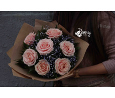 New model bouquet of roses 7